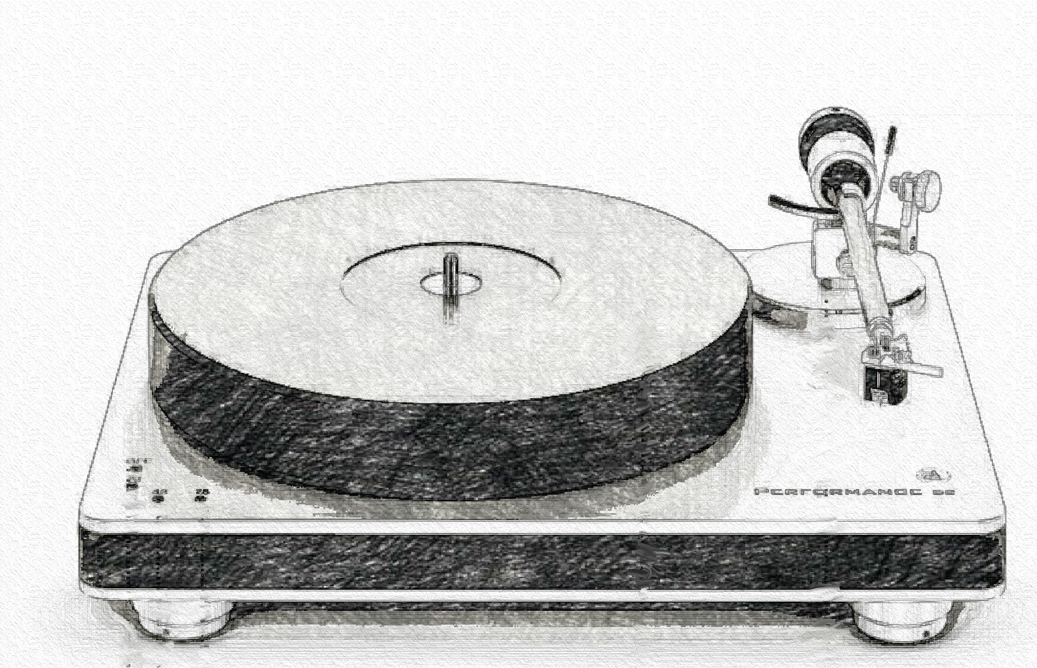 sketch record player image